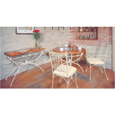 Masa si scaune din fier forjat Capri Iron Art