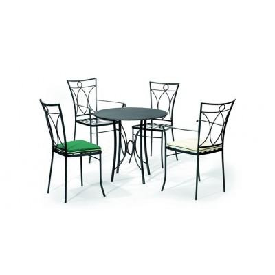 Masa si scaune de exterior gama Bretagne