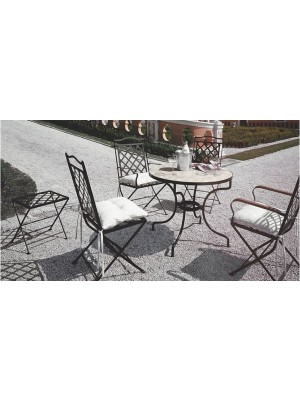 Masa de exterior St. Tropez cu scaune